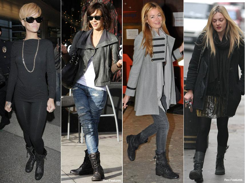 Ask The Glamazons: How To Wear Combat Boots In The Winter ...
