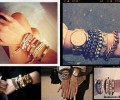 Get This Arm Party Started: Layering Jewelry Like Iris Apfel and The Man Repeller