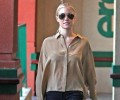 Steal Her Look: Kristin Cavallari's L.A. Sheer Blouse and Skinny Jeans