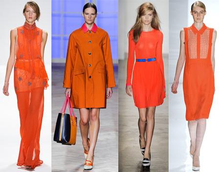 Trend Alert: 2012's 'IT' Color Tangerine