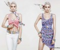 NEW! Abbey Lee Kershaw and River Viiperi for Versace for H&M Cruise Collection Lookbook