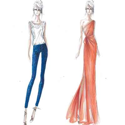 Fashion Design Sketches 2012