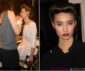 #NYFW Backstage Beauty: Jenny Packham Fall 2012 with L'Oréal Professionnel, Laura Mercier & Essie Inspired by1940s Film Noir