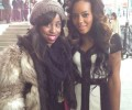 Glamazon Jessica Chats With Angela Simmons PLUS Get Her Rachel Roy Ponte Colorblock Dress