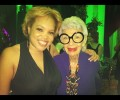 A Day In The Life: Glamazon Andrea Meets Iris Apfel