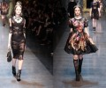 #MFW: Dolce & Gabbana Fall 2012 – Romantic Baroque aka Beauty and The Beast