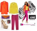 Steal Her Look: June Ambrose's Colorblock Separates in Styled by June Promo