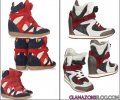 Adventures in Copyright: Isabel Marant Vs. Eleana Iachi Wedge Sneakers