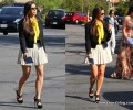 GLAM OR SHAM?: Kim Kardashian's Easter Sunday Pleated Skirt and Christian Louboutin Pumps