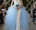oscar-de-la-renta-bridal-spring-2013-white-blue-wedding-gown-glamazons-blog-2