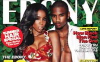 Click, Pose: Kelly Rowland and Trey Songz for Ebony Magazine July 2012