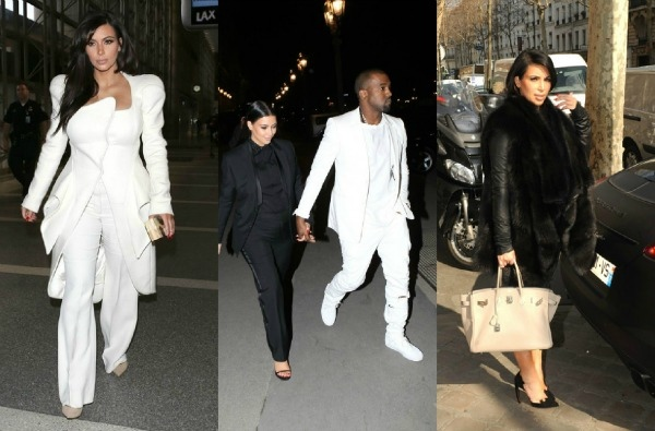 GLAM or SHAM? Kim Kardashian's Paris Fashion Week Maternity Style