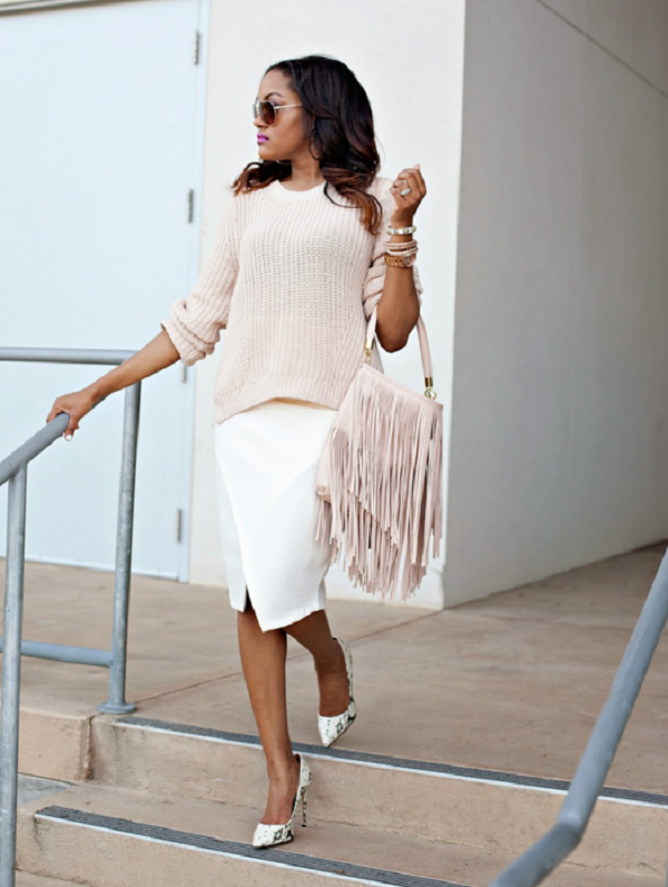 Alwayz-Fashionably-Late-Pastel-Pink-Fringe-Bag-Matching-Knit-Sweater-Fashion-Glamazonsblog