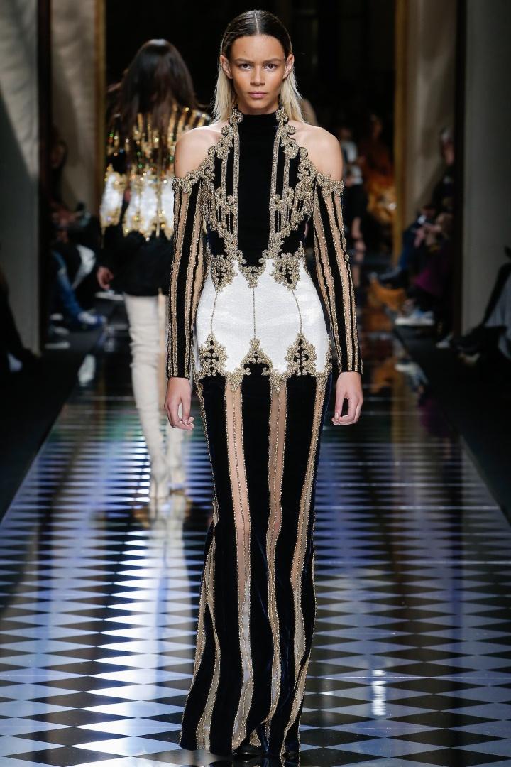 Balmain-Fall-2016-Embellished-Gown-Fashion-Glamazonsblog