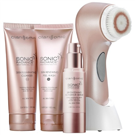 TRY THIS: Clarisonic Sonic Radiance  Brightening Solution