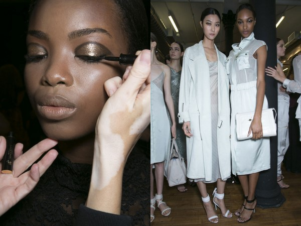#NYFW Backstage Beauty: Jason Wu Spring 2014 with His Gorg Collection for Lancôme!