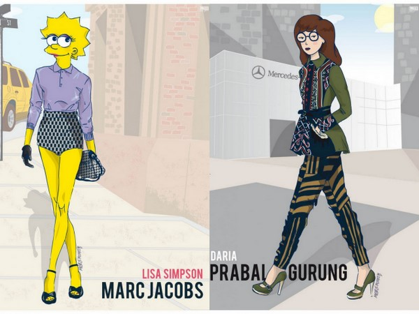 GLAM SCOOP: Deets on Peter Som for Kohl's, Jennifer Lopez for Cosmo and 90s Cartoons Go To #NYFW