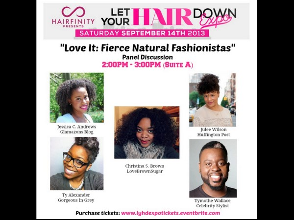 "GLAM EVENTS: Join Glamazon Jessica For ""Let Your Hair Down"" Expo Panel in NYC"