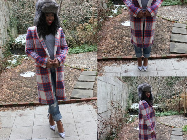 What I Wore: Bad in Plaid