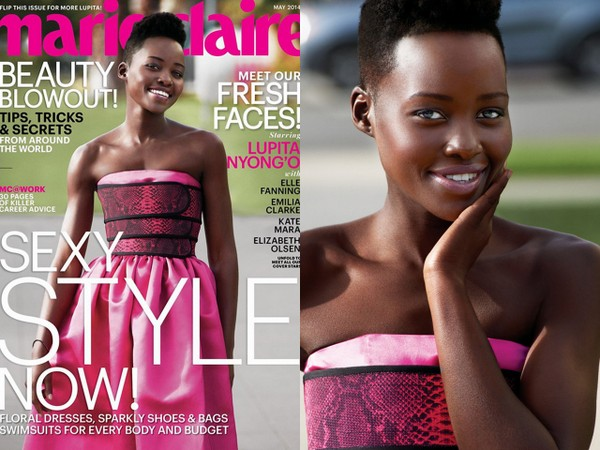 GLAM SCOOP: Lupita Nyong'o for Marie Claire, Bobbi Brown Eyewear and 20% Off at The Gap