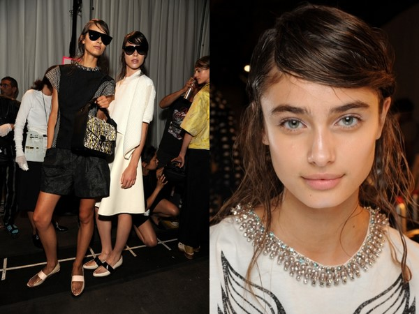 #NYFW Backstage Beauty: 3.1 Phillip Lim Spring 2014- NARS Hologram-Inspired Makeup Look!