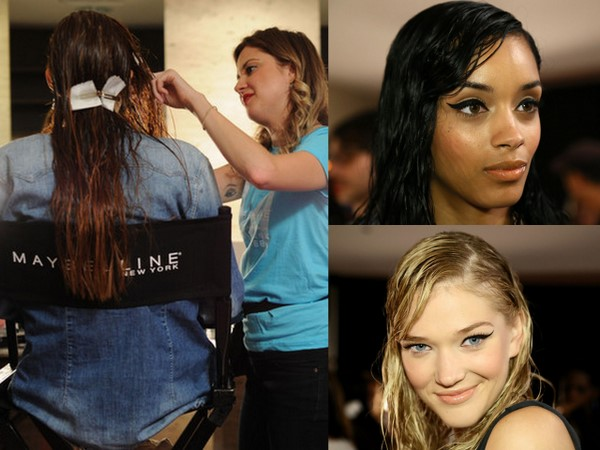 #NYFW Backstage Beauty: ELLE Fashion Next – Wet Hair Look by Kerastase