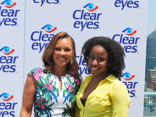 Glamazon TV: Vanessa Williams and Sam Fine Give Me Tips For Younger-Looking Eyes!