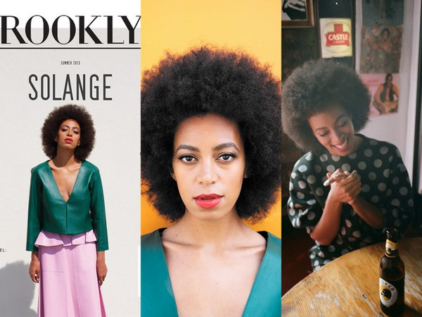 Strike A Pose: Solange Knowles Covers <i>Brooklyn Magazine</i>