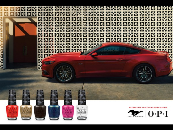 You Can Now Match Your Car To Your Mani Thanks to Ford & OPI #FordMustang50