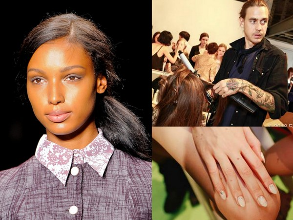 #NYFW Backstage Beauty: Honor Spring 2014- Hair, Makeup & Nails