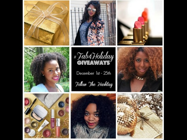 WIN IT!: #Fab4Holiday Giveaway Each Day in December!