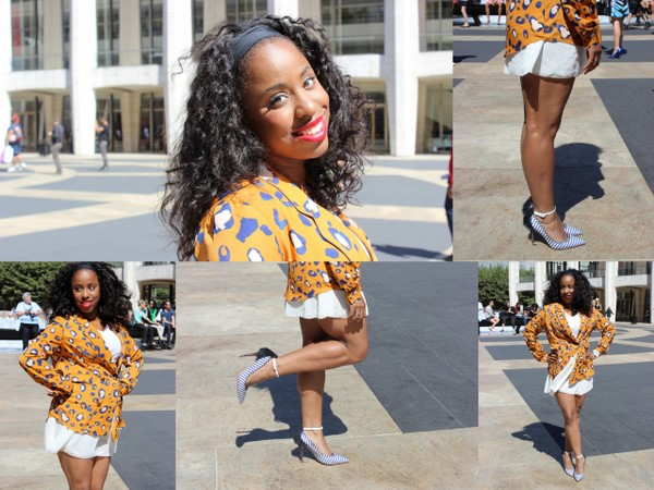 What I Wore #NYFW Edition: Phillip Lim for Target Leopard Print