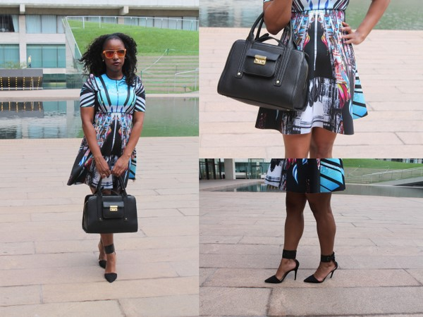 What I Wore #NYFWCrawl Edition: Clover Canyon from Rent The Runway