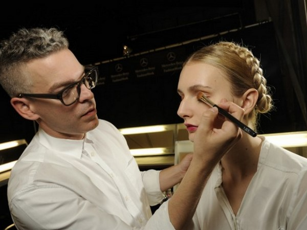 #NYFW Backstage Beauty: Naeem Khan Spring 2014- Makeup By NARS!