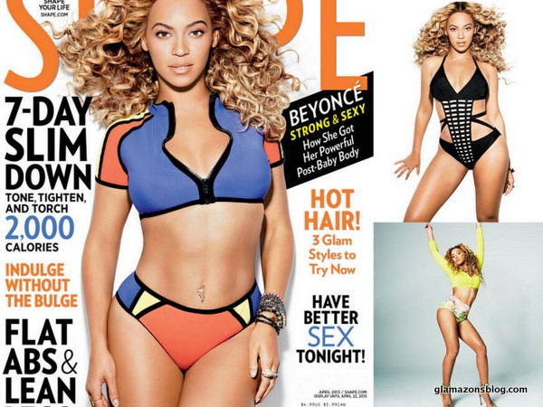 Get Your Life: Beyoncé Shows Off Abs and Curves for <i>Shape Magazine</i>
