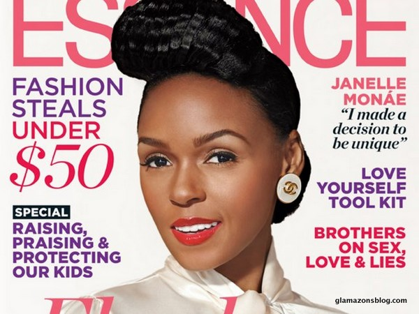 Strike A Pose: Janelle Monae Covers <i>Essence</i>, Talks Tuxedo Obsession and Why She Won't Show Skin To Sell Music