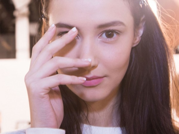 #NYFW Beauty: A Cool French Mani At Tibi Fall 2015 @JINsoon