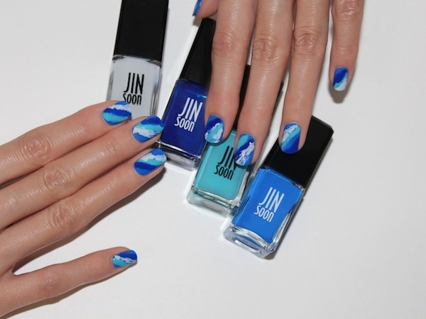"TRY THIS: JINsoon's Awesome ""Blues Of Summer"" Nail Look"