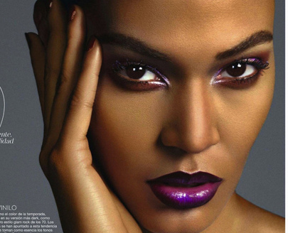 How To Rock Purple Lipstick Like Joan Smalls, Jessie J, JoJo & More!