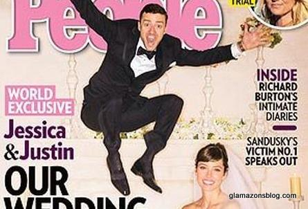 Fashion Wedding: Jessica Biel Marries Justin Timberlake in Giambattista Valli, He Wears Tom Ford