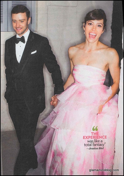 Fashion Wedding Jessica Biel Marries Justin Timberlake In Giambattista Valli He Wears Tom Ford