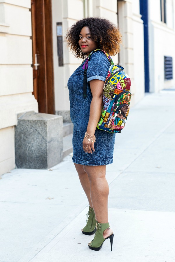 Love-Brown-Sugar-Denim-Shirt-Dress-Ankara-Backpack-Fashion-Glamazonsblog