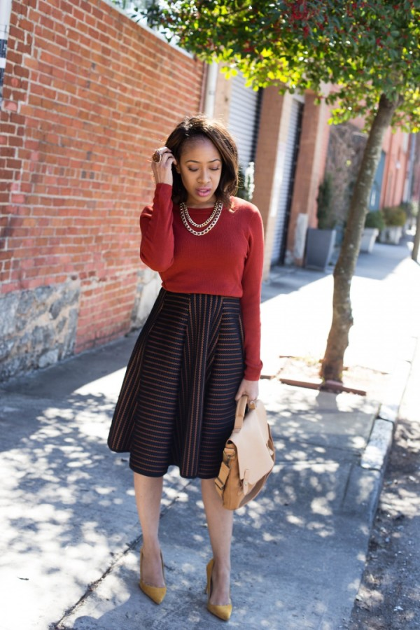Mattieologie-Textured-Skirt-Sweater-Glamazonsblog