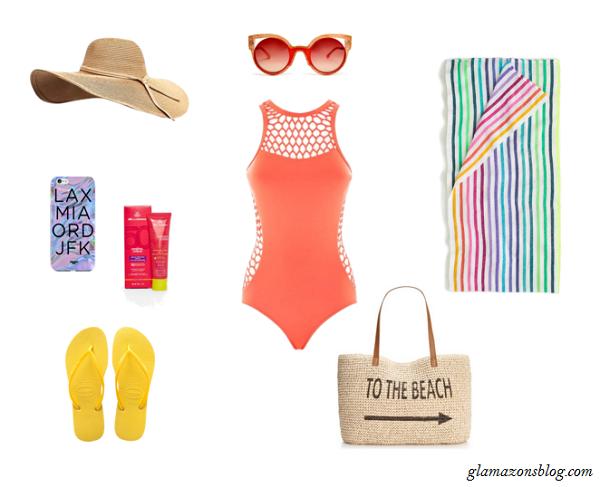 Memorial-Day-Beach-Swimsuit-Flip-Flops-Straw-Hat-Fashion-Glamazonsblog