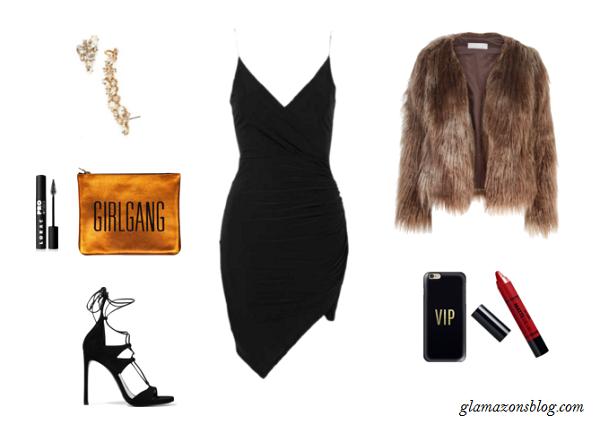 Memorial-Day-Nightlife-LBD-Strappy-Heels-Fur-Coat-Fashion-Glamazonsblog