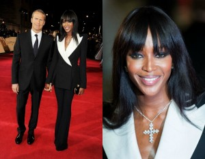 Naomi-Campbell-Royal-World-Premiere-Skyfall-alexander-mcqueen-spring-2013- double-breasted-black-wide-leg-pant- suit-white-lapel-collar-12