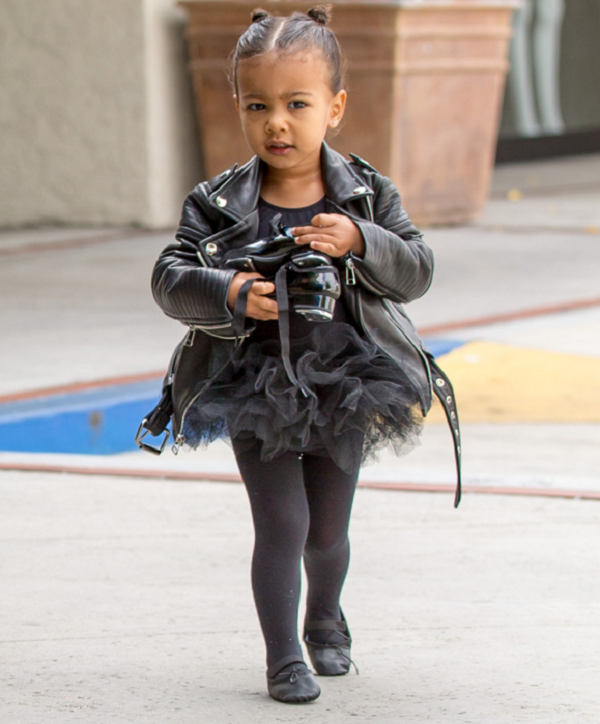 North-West-Edgy-Black-Leather-Ballet-Outfit-Fashion-Glamazonsblog