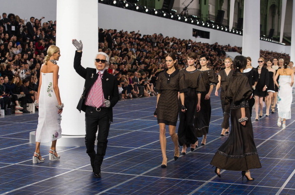 #PFW: Chanel Spring 2013 with Jennifer Lopez, Kanye West and Rachel Zoe