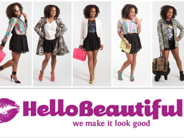 "Glamazon Jessica is Featured on Hello Beautiful ""5 Ways To Jazz Up a Black Skirt!"""
