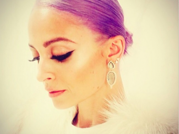 The (Moisturizing) Scoop On Nicole Richie's Purple Hair